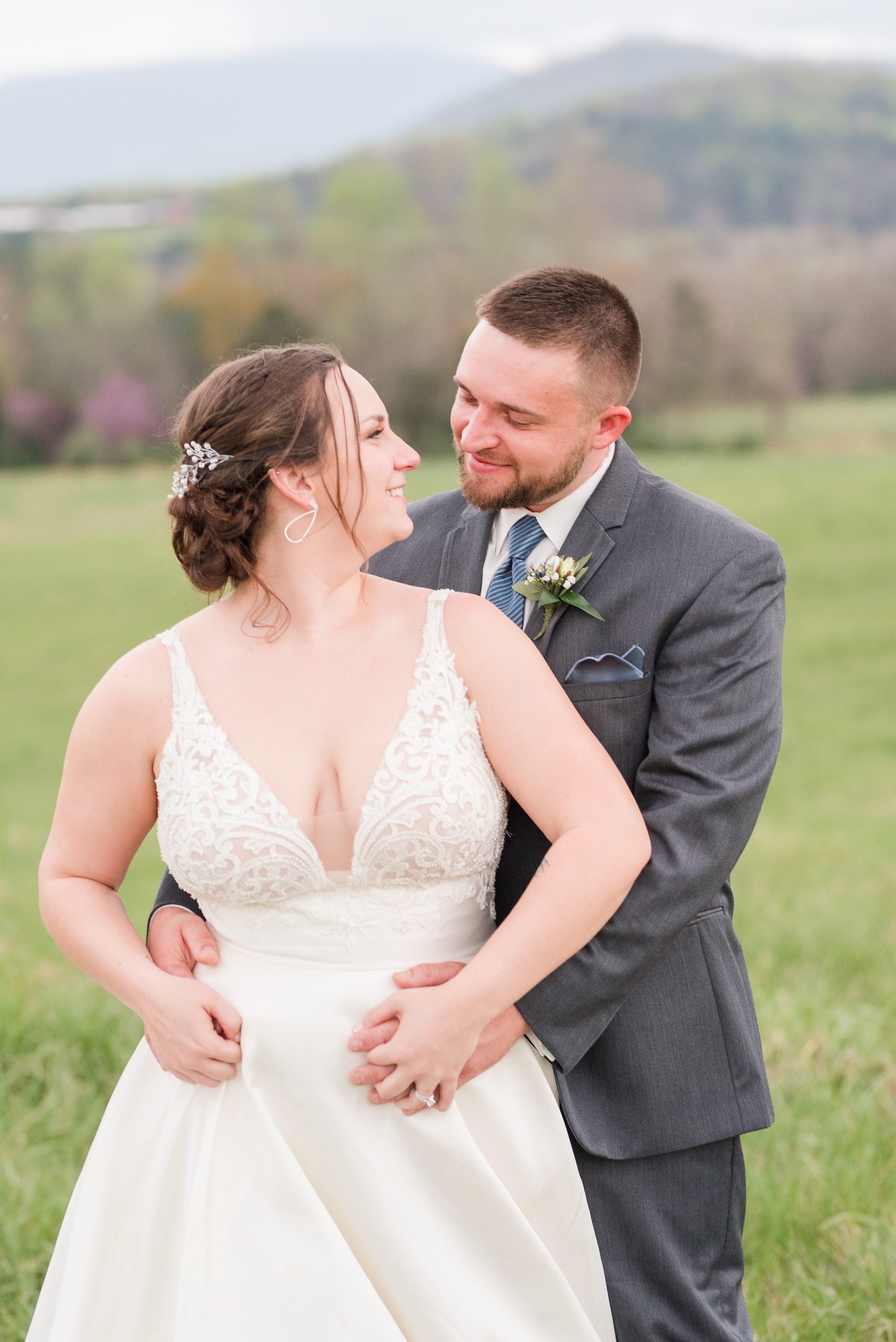 Southern Wedding,Edgewood,Blue Ridge Mountains,bride and groom,edgewood barn,Barn at Edgewood