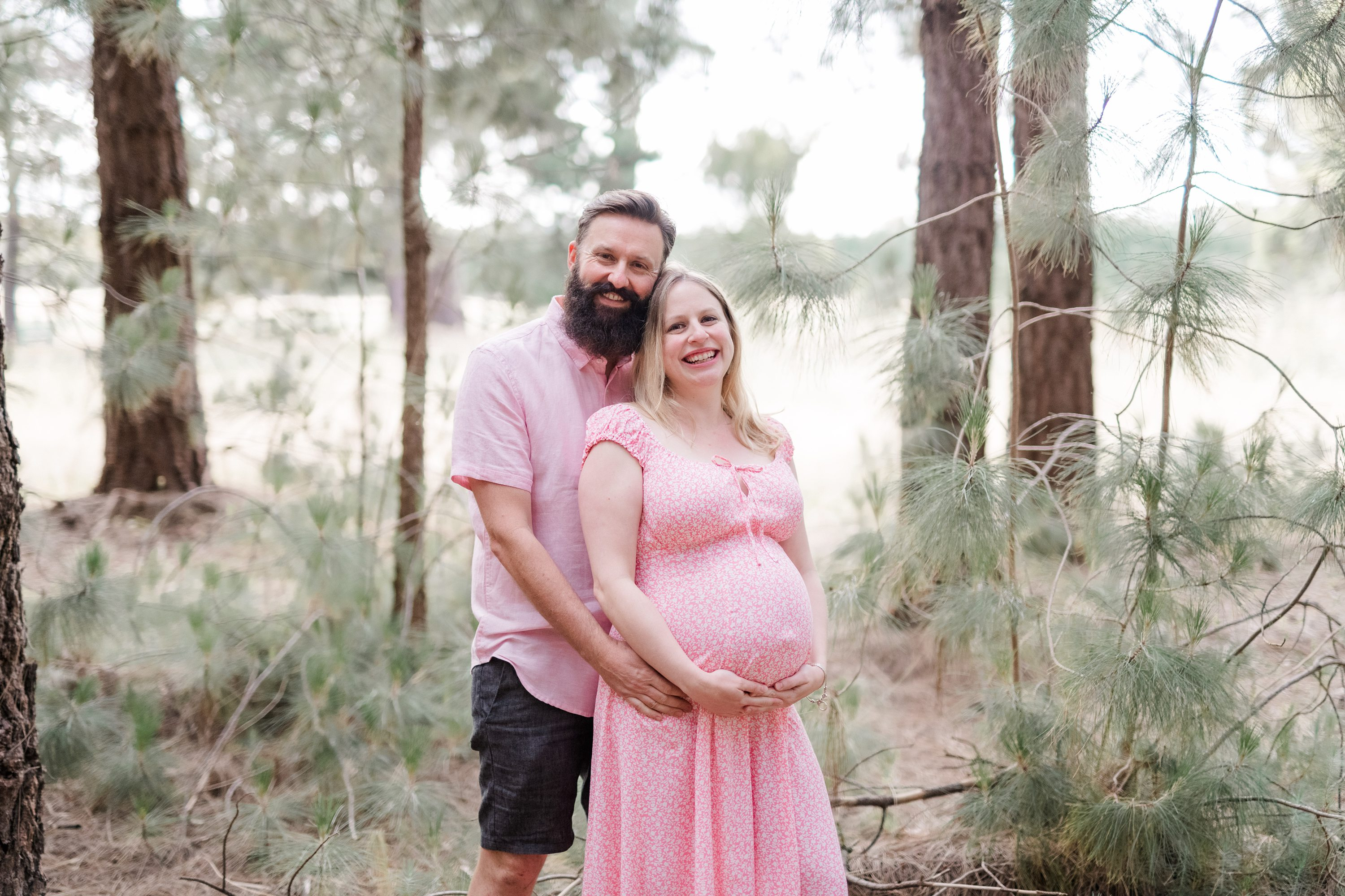 amanda kate photography,adelaide hills maternity session forest maternity session