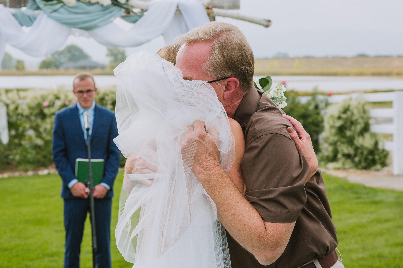 father of the bride,bride,ceremony