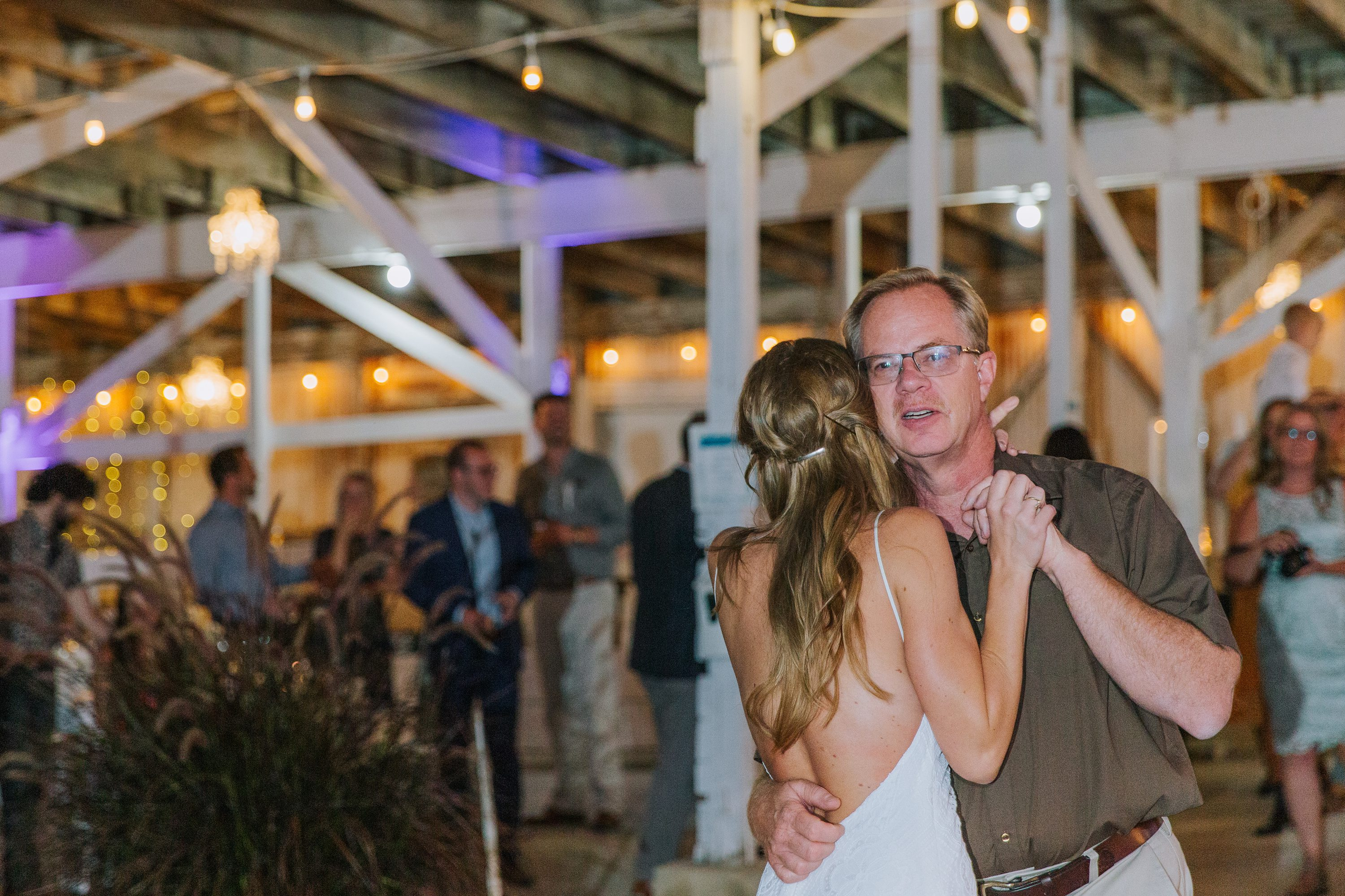 father daughter dance,father of the bride,barn reception