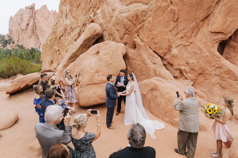 garden of the gods,destination wedding photographer