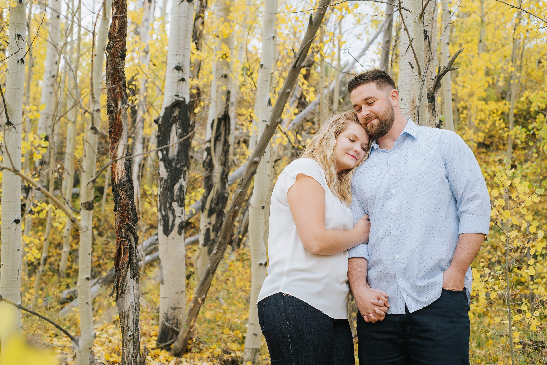 Colorado Rocky Mountain Engagement Photos, Fall photos