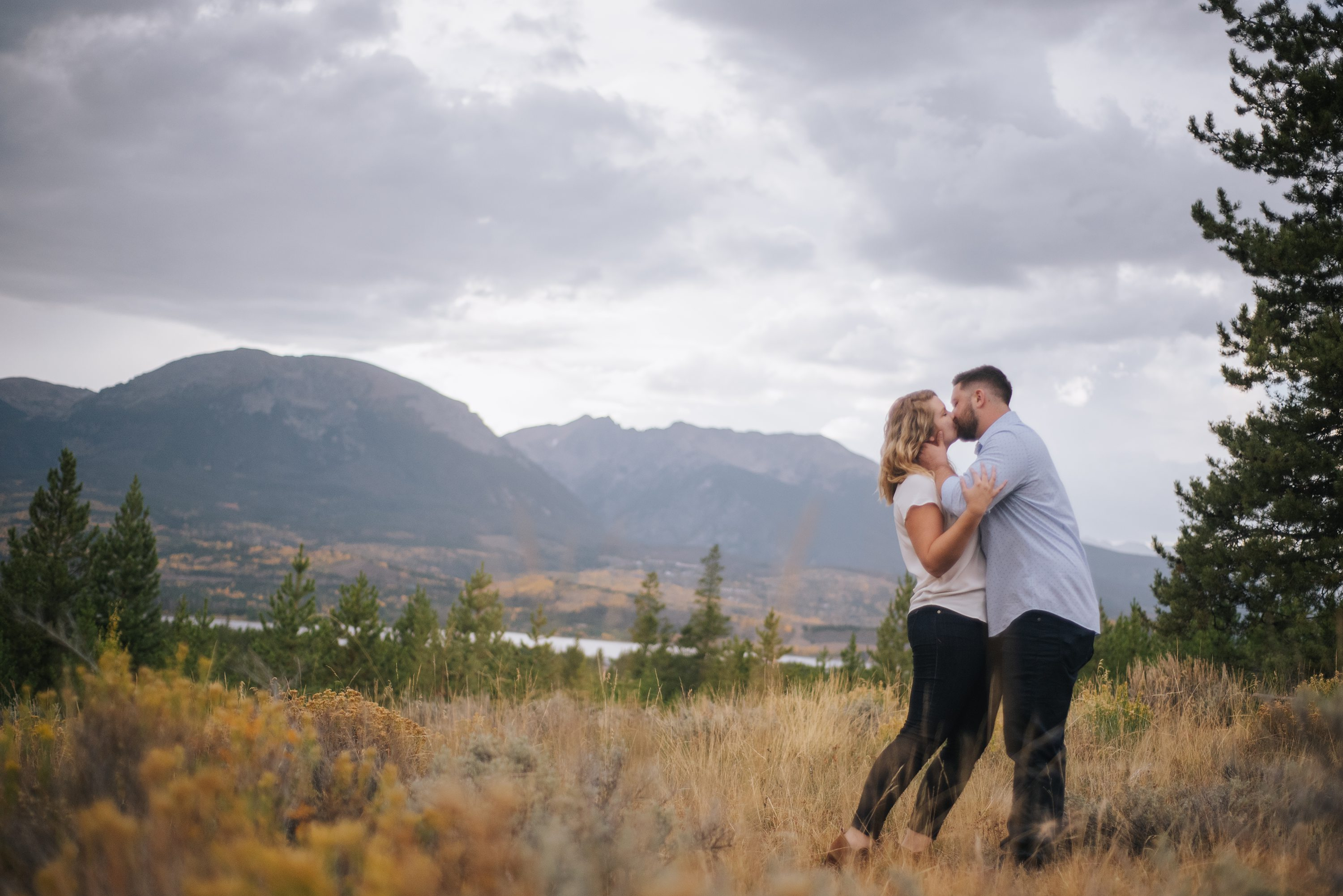 fall engagement photography, colorado engagement photography