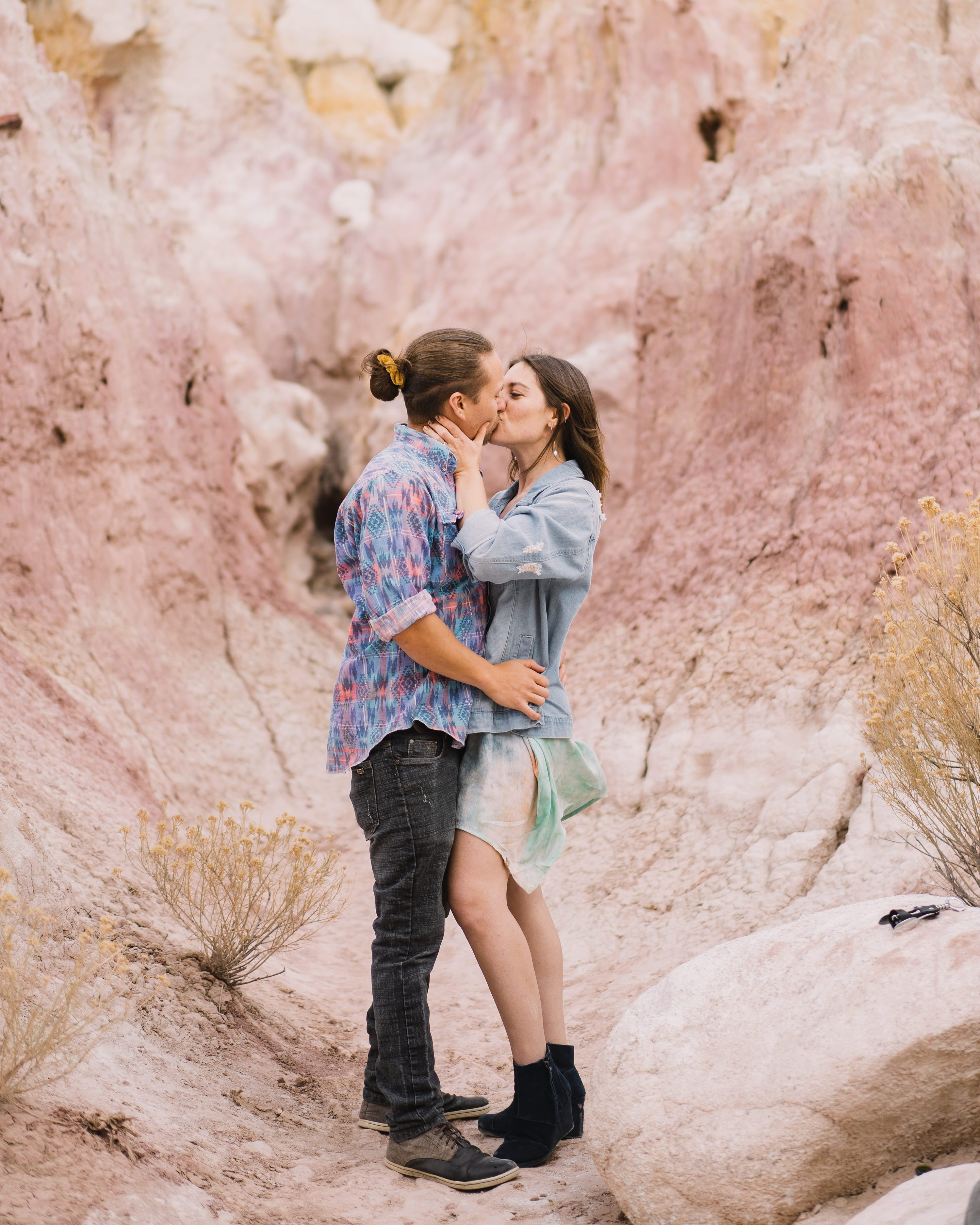 hipster,paint mines engagement